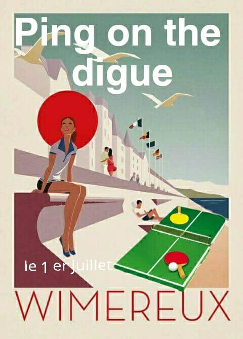 Ping on the Digue